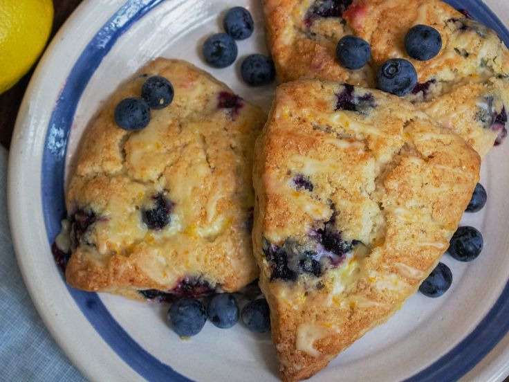 How to Make Our Best Basic Blueberry Scones