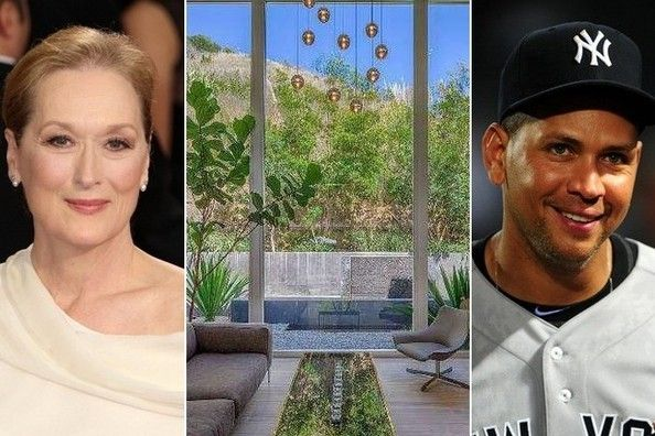 meryl streep sells home to a rod architecture home and. Black Bedroom Furniture Sets. Home Design Ideas
