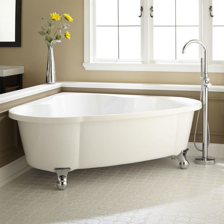 70  Talia Corner Acrylic Tub   Ball Feet. 1000  ideas about Acrylic Tub on Pinterest   Natural cleaning