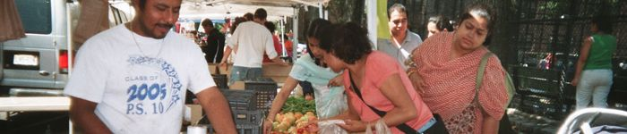 Sunday is a market day @ Jackson Heights Greenmarket in Queens, New York 8am - 3pm http://www.farmersmarketonline.com/fm/JacksonHeightsGreenmarket.html
