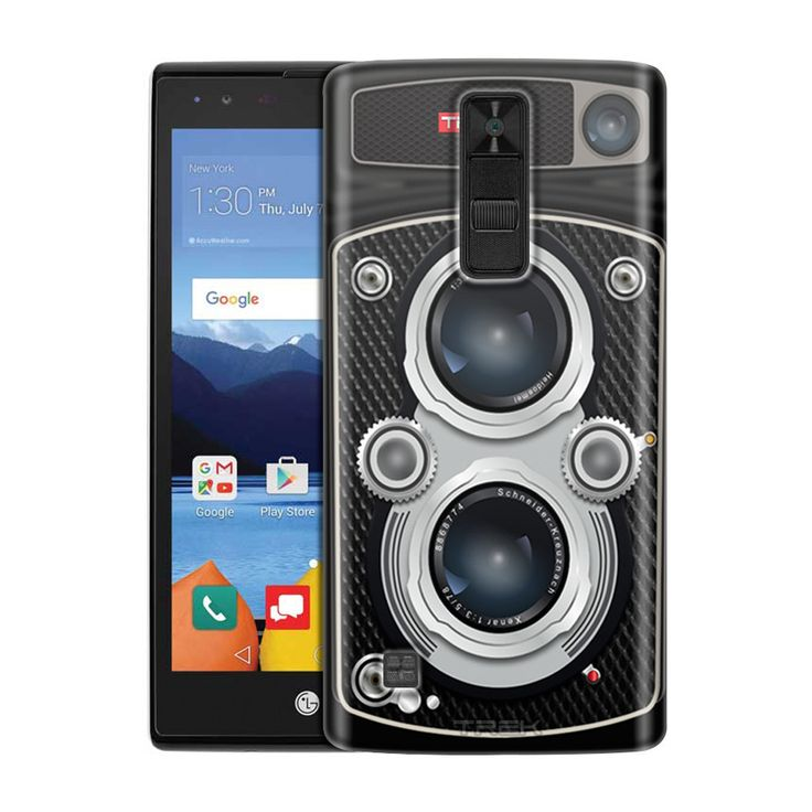 LG K8V Black Twin Reflex Camera Slim Case