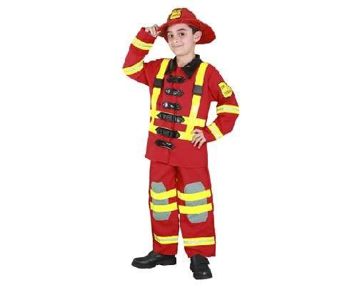 Tu mejor disfraz de bombero de niño bt 10403.Este comodísimo traje rojo con cintas florescentes es perfecto para carnavales, espectáculos, cumpleaños y tambien para las fiesta de los colegios como fin de curso o cualquier otras actividades.