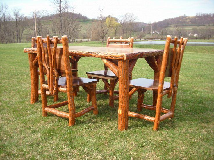 1000 Images About Amish Made Rustic Log Sassafras Furniture On Pinterest
