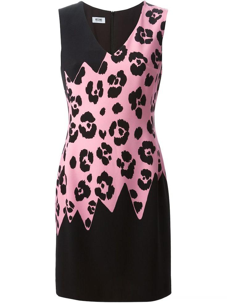 Set that street style Leopard print Leopard-print stretch-jersey dress,  leopard print panel dress, Leopard-print Silk-blend Dress