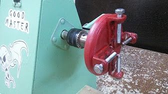 HomeMade Lathe Part 2 - Head stock, tail stock, bed (torno casero) - YouTube