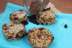 Kokos-Rozijn Lijnzaad muffins - De Bakparade