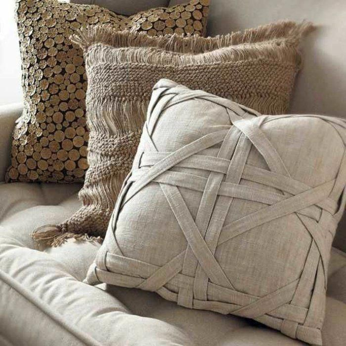 Housses Coussins Créatives #creativepillow Diy Pillows, Cushions, Throw  Pillows, Diy Pillow Covers