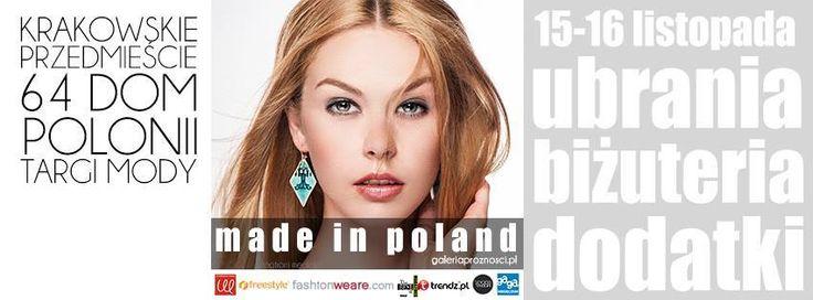 """""""Made in Poland"""" jest spotkaniem artystów i projektantów ze wszystkimi, którzy są znudzeni masówkami."""
