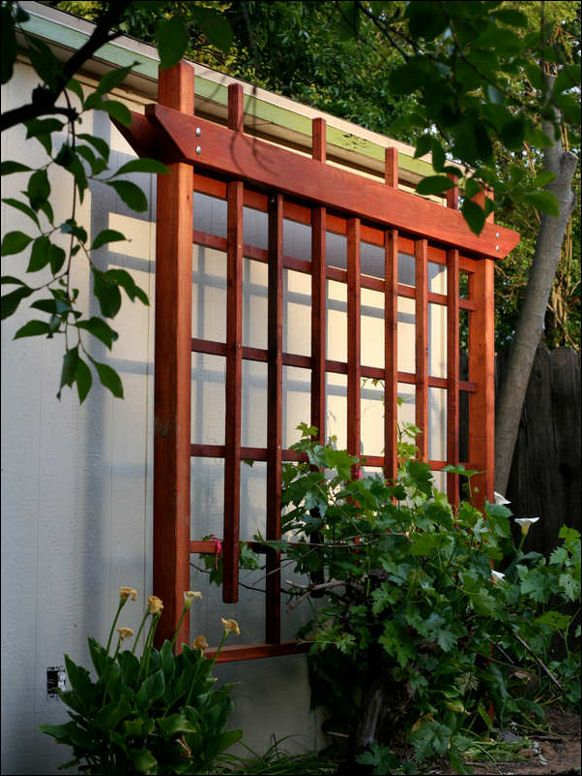8 best asian style trellis images on Pinterest | Gardening, Garden ...