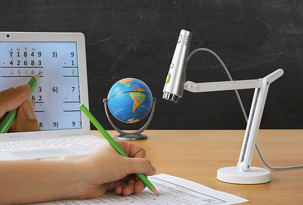 IPEVO: Cheap idea for teachers who don't have a document camera.