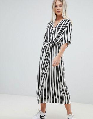Image 1 of Weekday Stripe Shirt Dress c7e572642
