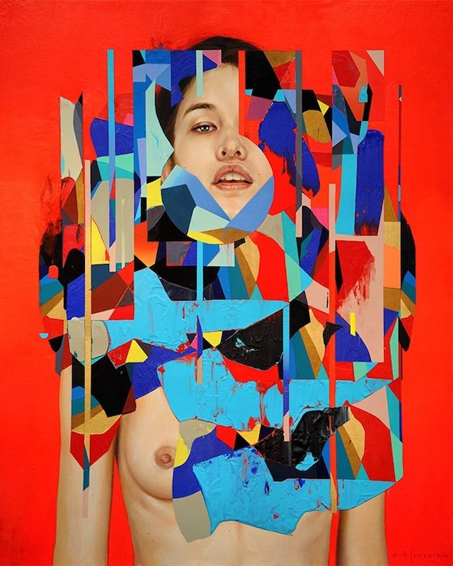 Graphic and Colorful Portraits by Erik Jones -5