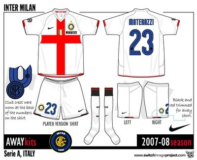 Inter Milan 2007 Away Kit