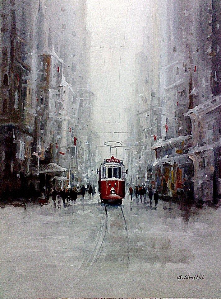 MASSSS ISTAMBULLLLLL ++++++++++++++++++++++ https://es.pinterest.com/whitequenn/istanbul-in-paintings/ Savaş Simitli
