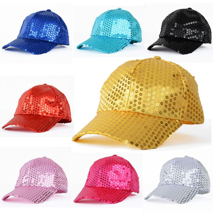 Cheap summer club hats, Buy Quality hat pendant directly from China hat winter Suppliers: 	Feature	100% brand new and high quality	Material: Cotton &Sequin	Adjustable back	cap girth:about 52cm - 58cm	Suit f