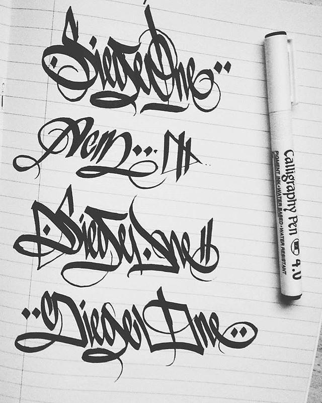 razor sharp Siege (@siege.one)! #siege #handstyle #graffiti //follow @handstyler on Instagram