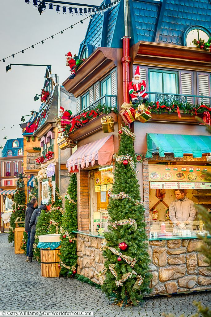 The Village at Burgplatz, Düsseldorf, Germany