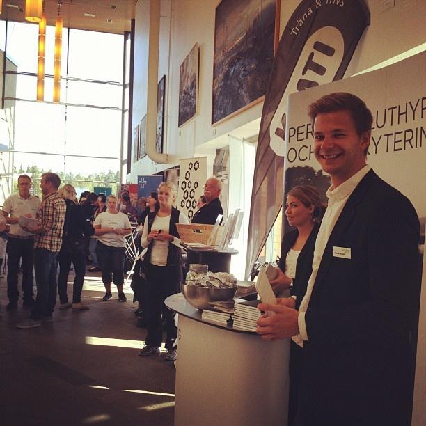 """@academicwork's photo: """"Academic Work besöker Karlstad universitet för att prata jobb med studenterna på Välkomstmässan"""""""