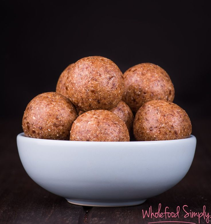 Spicy Chai Bliss Balls