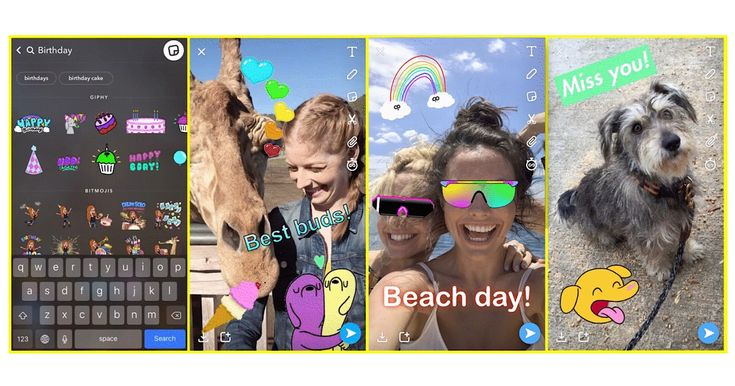 Snapchat Now Supports Animated GIFs from GIPHY by @MattGSouthern: Snapchat has been updated with support for… #News #Snapchat #SocialMedia