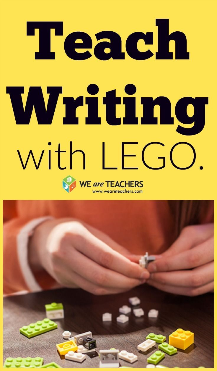 You know you can use LEGO in math and science, but did you know that you could also use it to teach writing. Find out how.