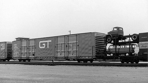 GTW 378221 in 1968 in 2019   Freight Cars   Rolling stock