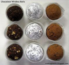 chocolate whiskey balls