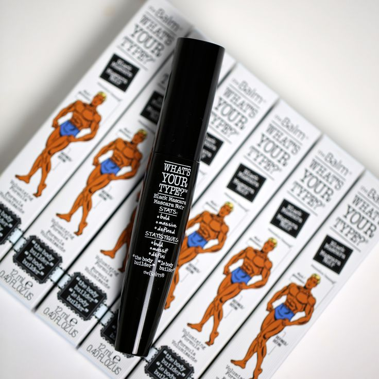 What's your type? We love to pump up our lashes with our Body Builder Mascara.