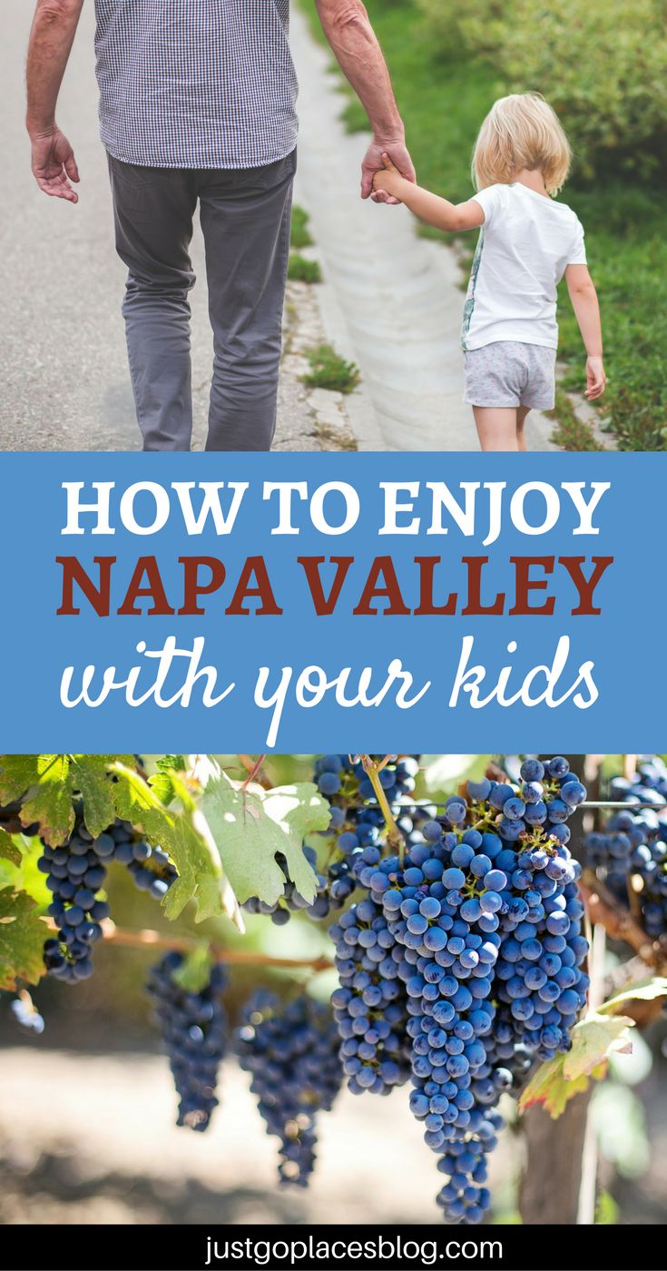 Don't think that wine and family travel can't go together - read how to enjoy a Napa Valley family vacation with your kids. Things to do in Napa Valley | Napa Valley vacation | Napa valley kid friendly - via @justgoplaces