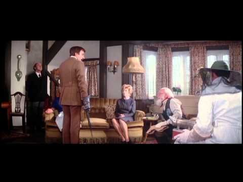 """The Pink Panther Strikes Again. Inspector Clouseau / Peter Sellers. I hope you enjoy this clip, one of my favourites """"The Pavlova of the Parallels""""..."""