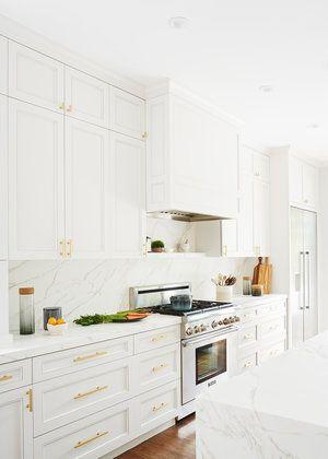 Kimberly Ayres Commonwealth Kitchen Kitchen White Marble
