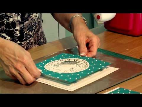 Craft Dies by Sue Wilson -- Tutorial Video -  Celestial Teal Aperture Card for Creative Expressions
