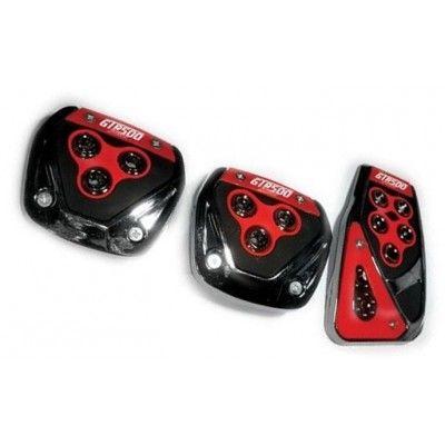 Pedal Seti Fa1 250 Kırmızı Siyah