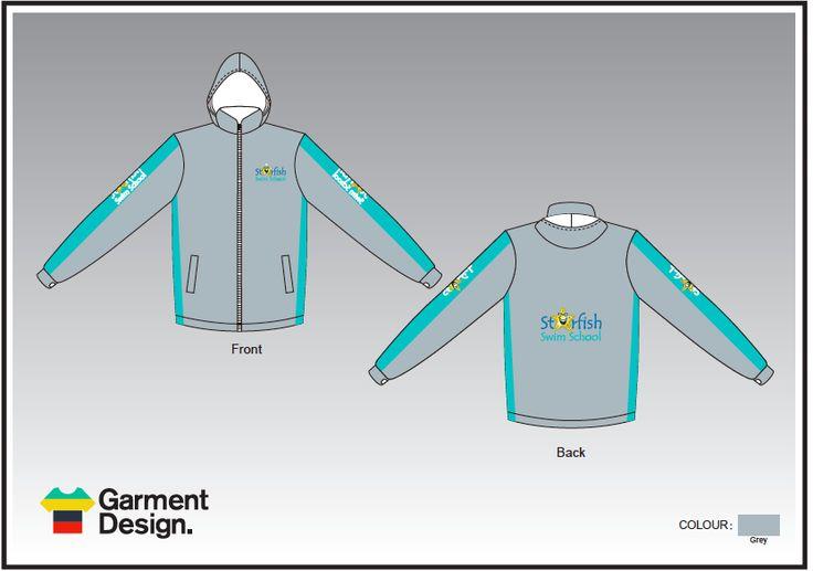 Sublimated Tracksuit for Starfish swim school