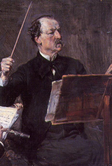 Портрет Эммануэля Муцио, 1892. Джованни Больдини