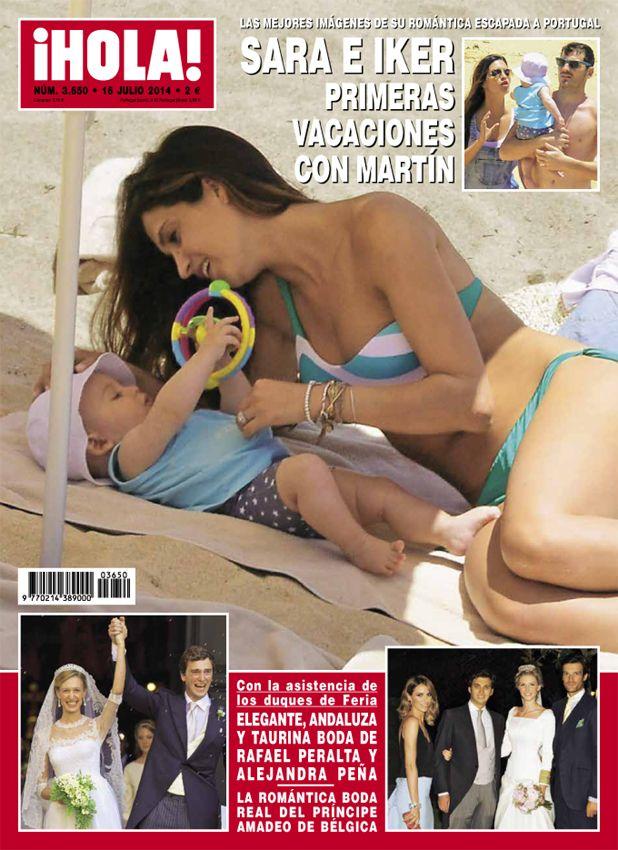 En ¡HOLA!: Las mejores imágenes de las primeras vacaciones de Iker Casillas y Sara Carbonero con Martín #covers