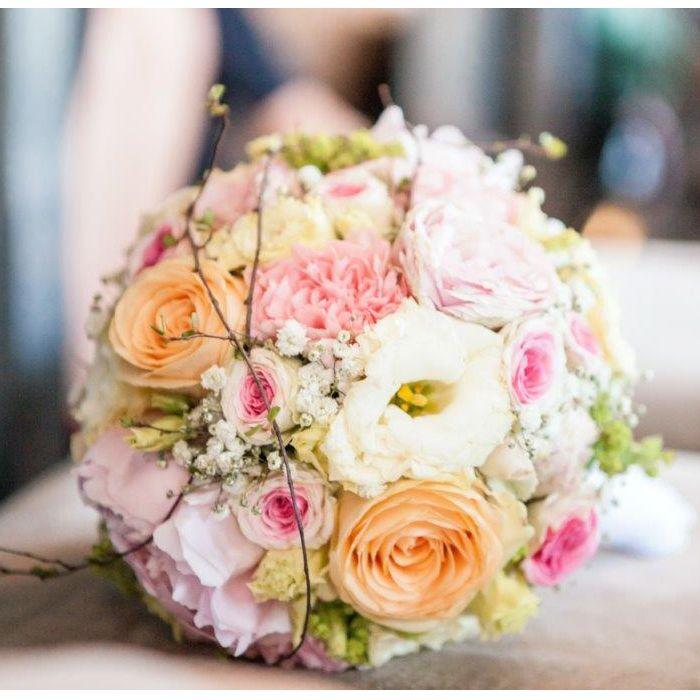 Hochzeit Brautstrauss Sommerlich Kompakt Blumenstrauss Hochzeit Brautstrauss Hochzeit