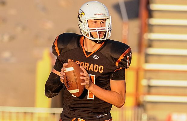 Coming from a football family, Eldorado's Zach Gentry has continued to work and is now one of the top quarterback recruits in the state. Albuquerque NM.