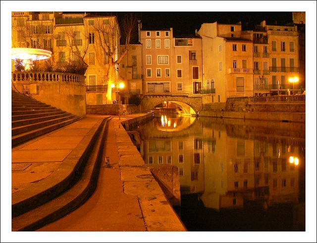 Narbonne by night - Aude, France