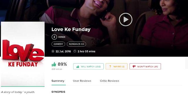 Love Ke Funday Full Movie Download