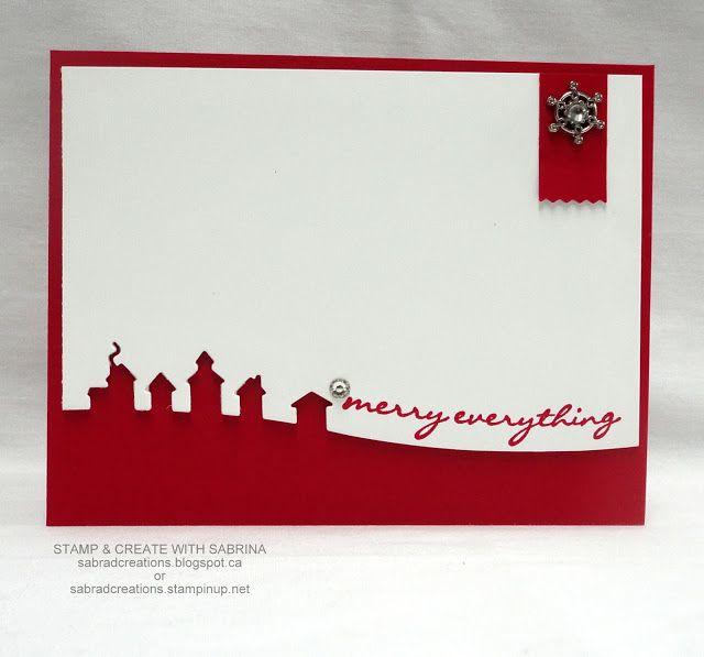 Stamp & Create With Sabrina: SLEIGH RIDE & JINGLE ALL THE WAY