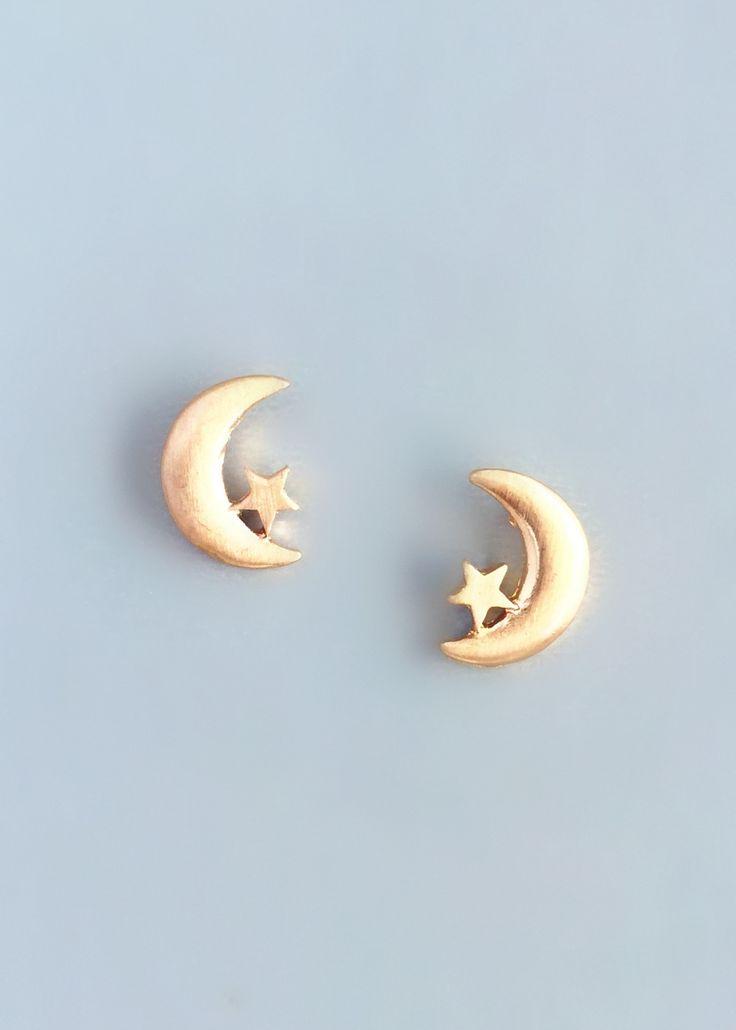 Darling Moon Earrings – Pree Brulee