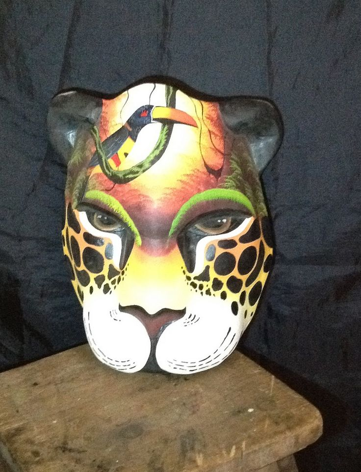 Indigenous Boruca Mask of Costa Rica - $199 on Selz