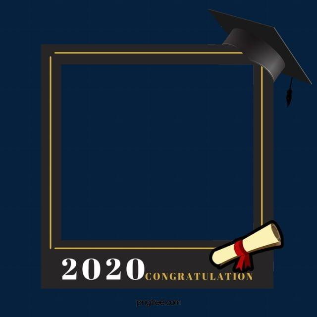 التعليم الكرتون التخرج الحدود التعليم كرتون تخرج Png وملف Psd للتحميل مجانا Graduation Frame Simple Photo Frame Education Banner