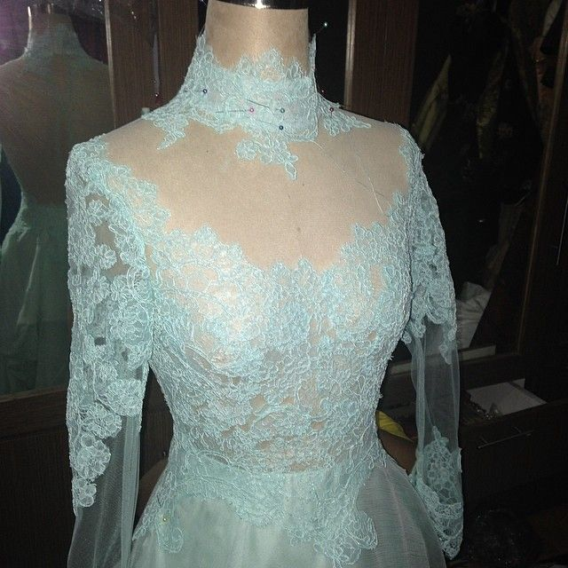 Red carpet gown for someone - @hengkikawilarangofficial- #webstagram