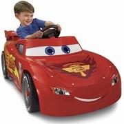 Disney Cars Power Wheels Lightning McQueen 6-Volt Battery-Powered Ride-on