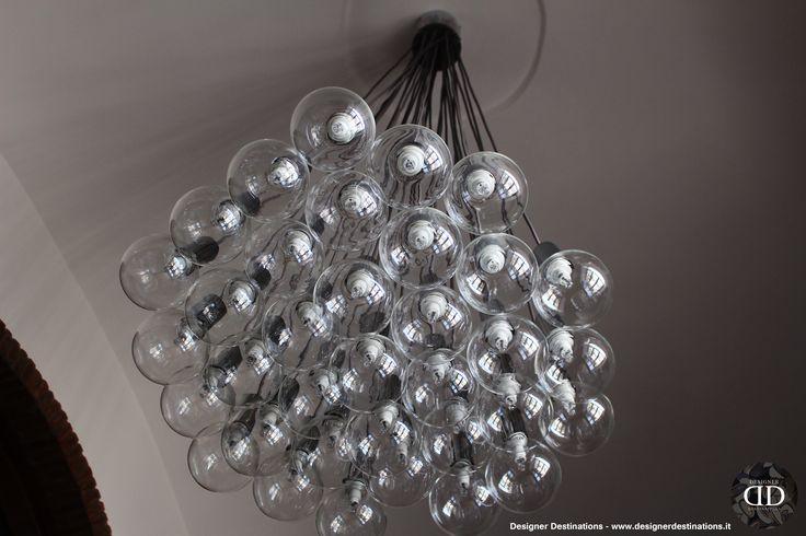 Ceiling chandelier - La Canonica Office Restyling