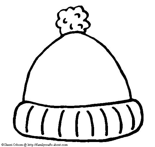 Kindergarten Printable hat templates | Go to the Celebrate Winter Fun Page