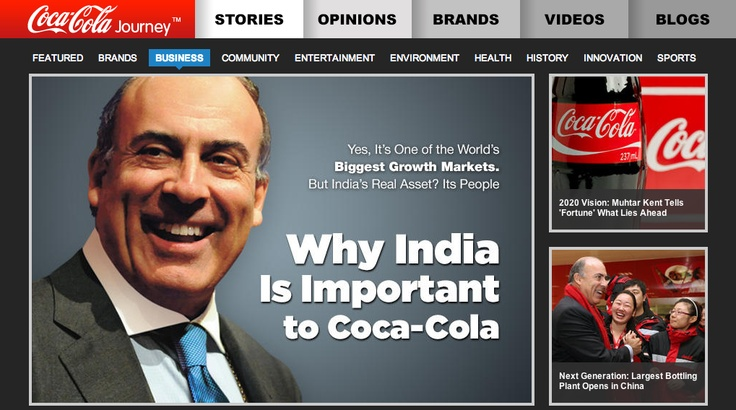 Will Coke's new brand storytelling platform 'Coca-Cola Journey' bring about the return of the corporate website?