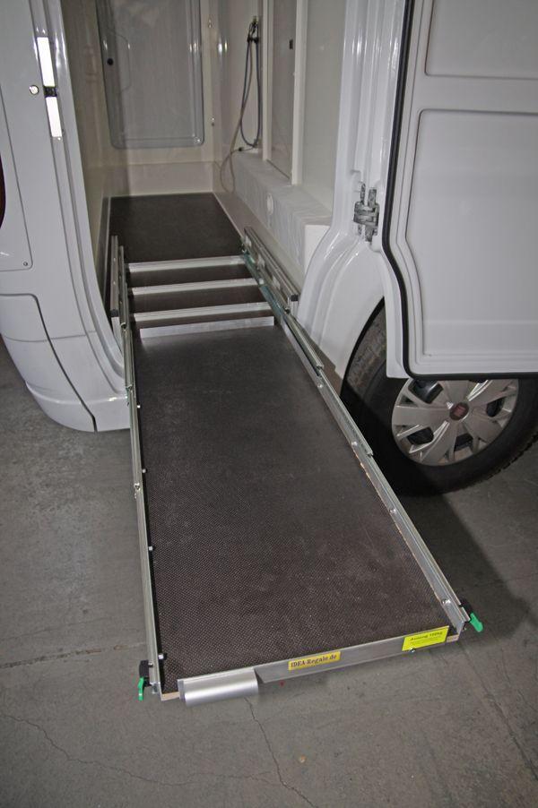 Auszug Mit Bodenverankerung Idea Regale Crafter Wohnmobil Womo Camping